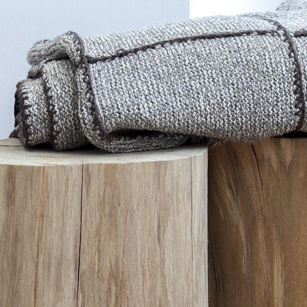 Wolldecke Iva Detailbild-1