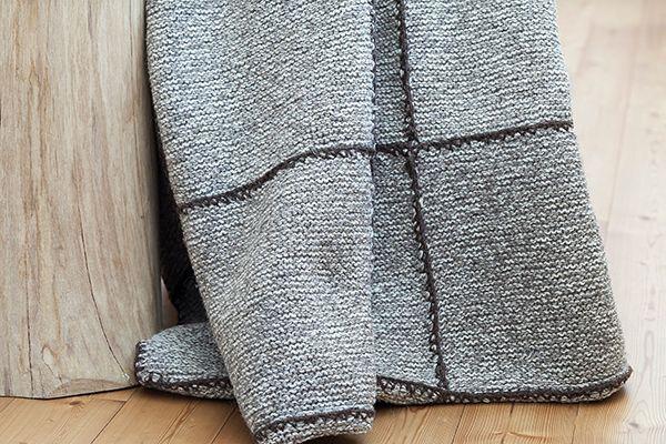 Wolldecke Iva Detailbild-3